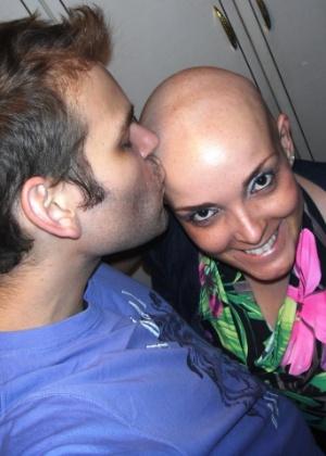 Monique Vargas Cardoso, de São Leopoldo (RS), enviou sua experiência com o câncer para o Você Manda