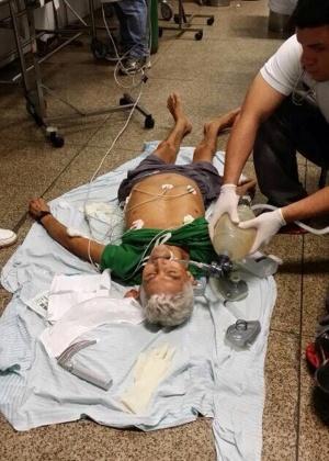 Resultado de imagem para pacientes no chão