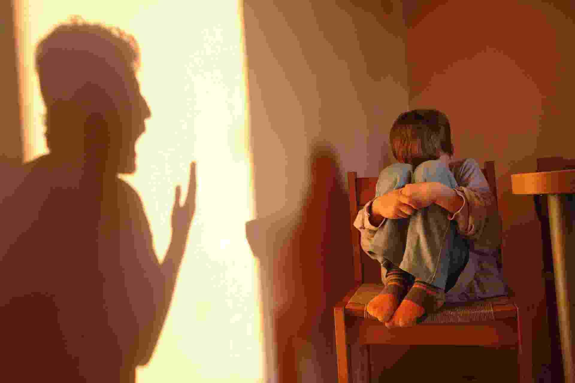 9.abr.2014- menino, medo, agressão infantil. abuso infantil - Thinkstock