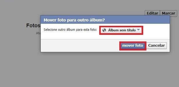 how to make an album on facebook public