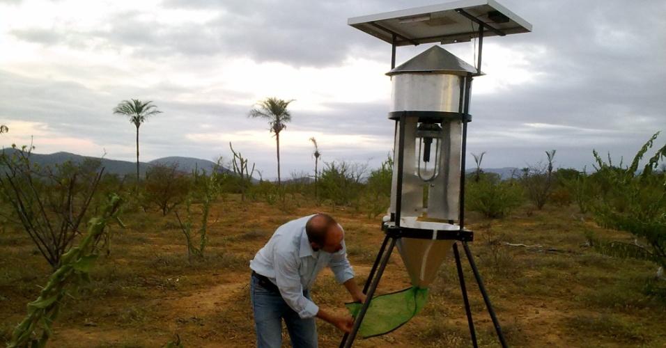 Armadilha criada por pesquisador da Bpode ser arma contra praga das lavouras