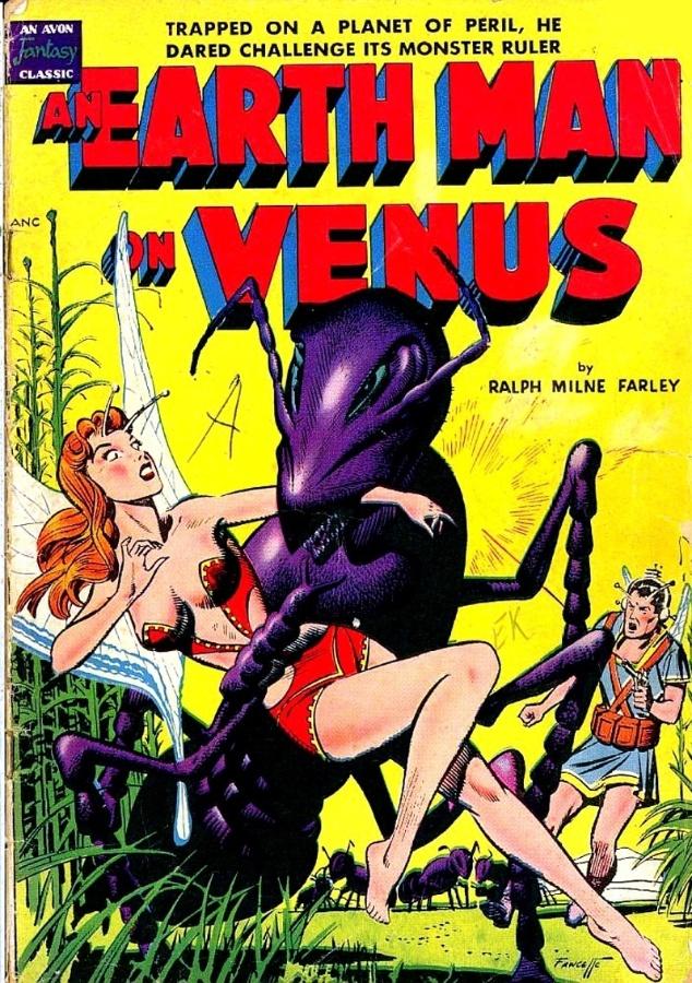 11.abr.2014 - Desde a década de 50, os homens já eram de Marte e as mulheres de Vênus, como mostra este HQ