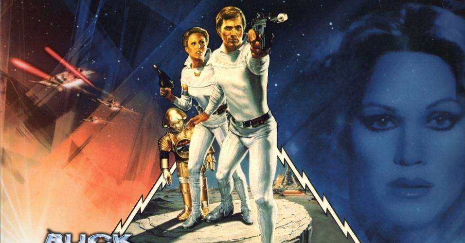 """11.abr.2014 - Já em 1920, um astronauta chamado """"Buck Rogers"""" explorou o espaço. O HQ deu origem a filme e série de televisão"""