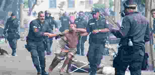 violência policial - Fernando Quevedo / Agência O Globo - Fernando Quevedo / Agência O Globo