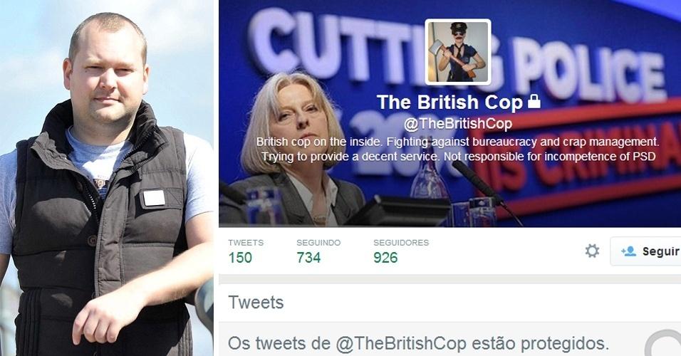 Twitter: críticas internas à polícia (2014).O policial Tony Ryan, 33, foi demitido da polícia britânica depois de supostamente ter publicado mais de 800 tuítes criticando a corporação. Ele teria usado o o perfil anônimo @TheBritishCop, atualmente restrito. Mas, segundo o ''Daily Mail'', as autoridades de Bristol confirmaram se tratar de Ryan. Entre os relatos, ele disse que seus superiores eram a ''escória'' e ''tratavam subordinados esforçados como lixo''. Ryan nega as acusações e se diz inocente