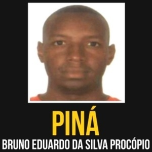 Piná foi localizado e detido na cidade de Búzios, na região dos Lagos - Divulgação/Disque-Denúncia