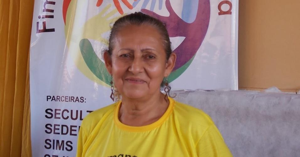 A diretora Elba Dias, da Escola Estadual Professor Nilton Balieiro Machado