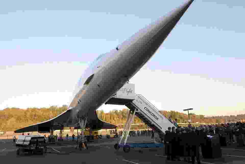 Museum of Flight, em Seattle (EUA), tem ícones da aviação como Concorde e Air Force One - Divulgação
