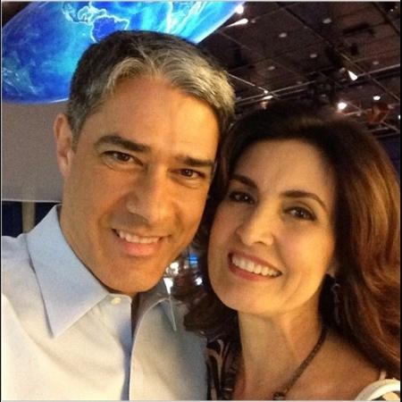William Bonner apagou esta foto com Fátima Bernardes, publicada em 2014 - Reprodução/Instagram/@realwbonner