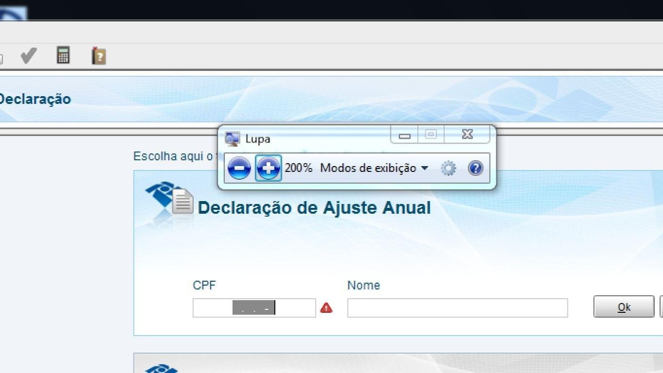 fc568e72f Com zoom do Windows, é possível aumentar conteúdo exibido na tela do PC -  25/04/2014 - UOL Tecnologia