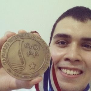 Ramon Gonçalves, 19, medalhista de bronze na Olimpíada Internacional de Química em Washington - Arquivo Pessoal