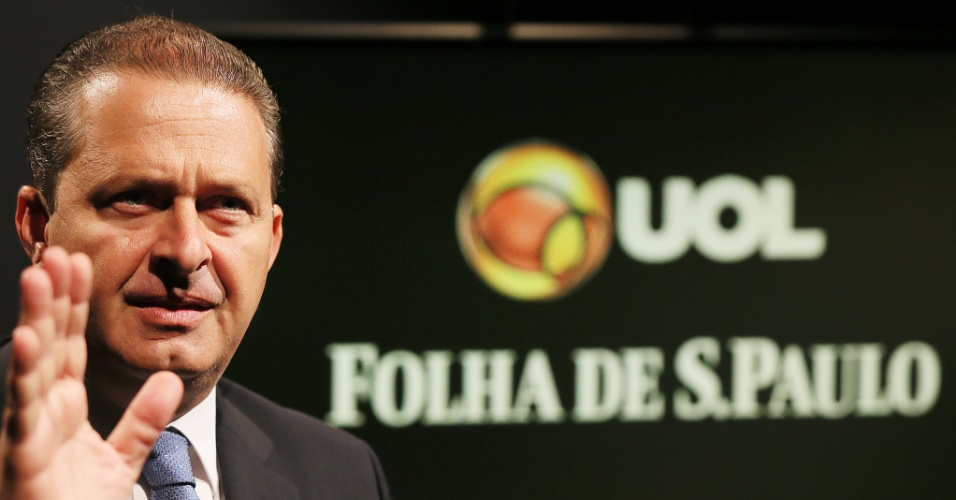 Pré-candidato a presidente pelo PSB concedeu entrevista ao UOL e à Folha em 29.abr.2014. A gravação ocorreu no estúdio do UOL em São Paulo.