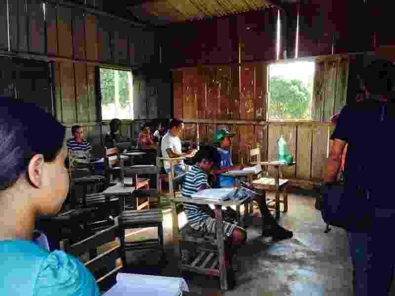 Escola Novo Progresso, no município de Novo Repartimento, no pará - Divulgação/MPF