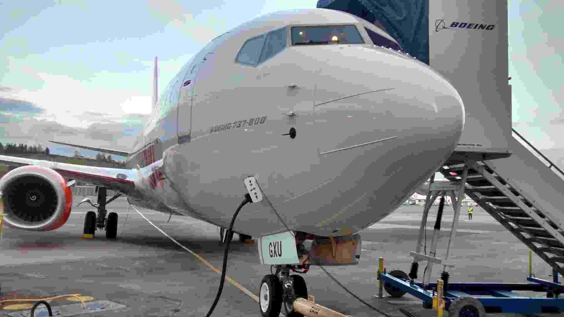 Fábrica da Boeing em Renton (região metropolitana de Seattle, EUA), onde são feitos os 737 da Gol - Armando Pereira Filho/UOL