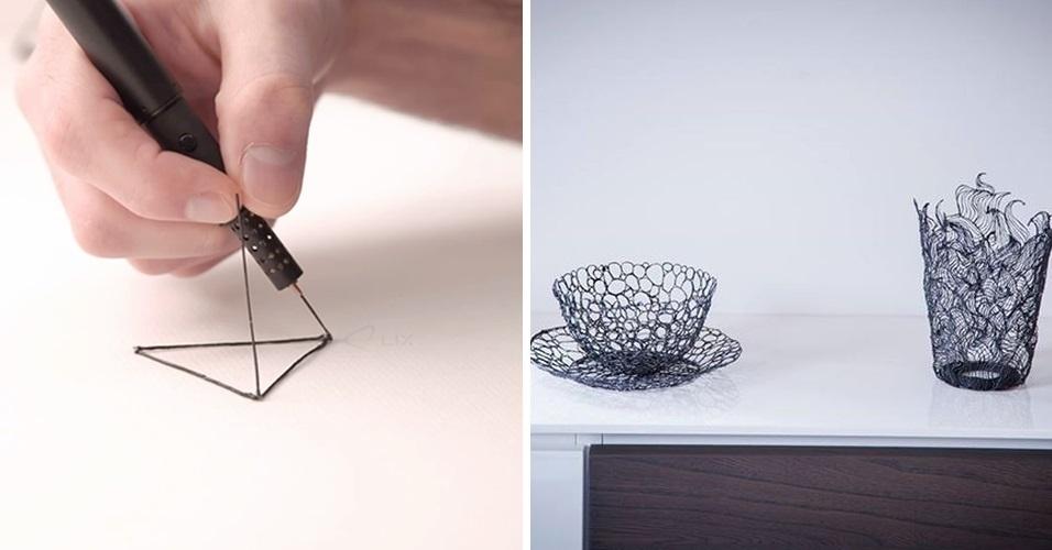A Lix é uma caneta, ainda em desenvolvimento, que promete funciona como uma impressora 3D portátil. Segundo seus desenvolvedores, ela seria capaz de derreter um filamento de plástico, para que o usuário faça um desenho 'no ar'. A estimativa é que o produto seja lançado em outubro de 2014 por US$ 140 (cerca de R$ 312)