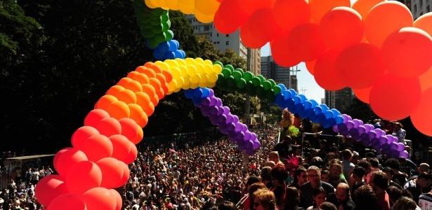 A Parada Gay será realizada na avenida Paulista, região central de SP, no próximo dia 7