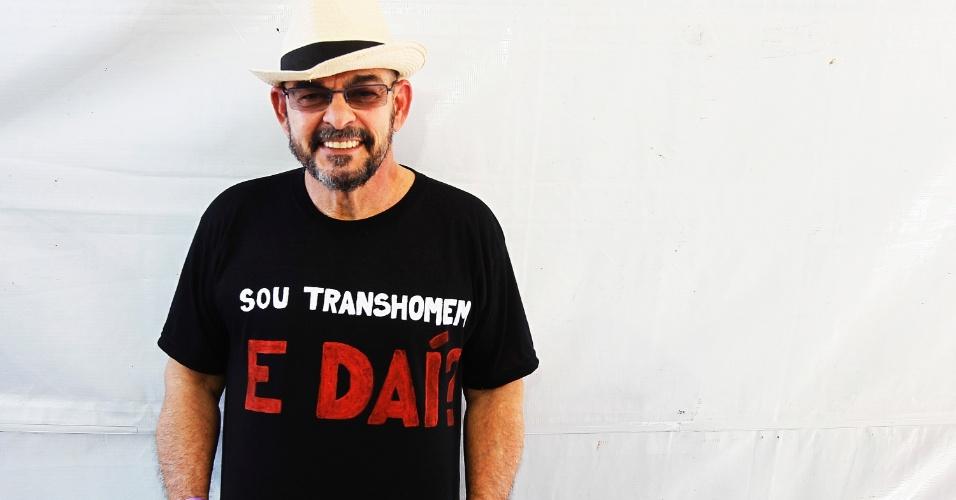 Primeira pessoa a fazer operação de mudança de sexo no Brasil em 1978, João Nery, 64, afirma que sofre transfobia