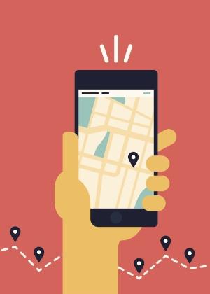 Com ajuda do GPS do smartphone, aplicativos conseguem localizar aparelho perdido
