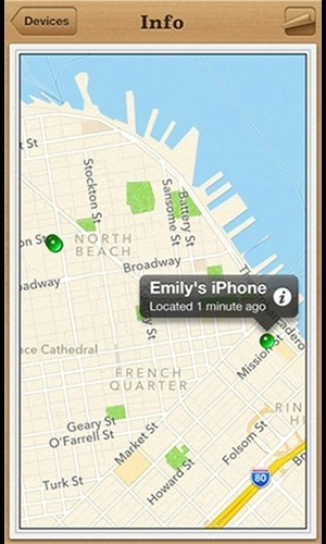 Buscar meu iPhone (iOS/Gratuito). Nativo do sistema iOS, solução ajuda a localizar o iPhone