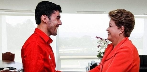 """6.mai.14 - O perfil """"Dilma Bolada"""" foi convidado para conhecer a presidente do Brasil"""