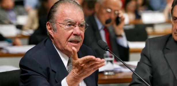 Sarney está magoado com Dilma - Pedro Ladeira/Folhapress