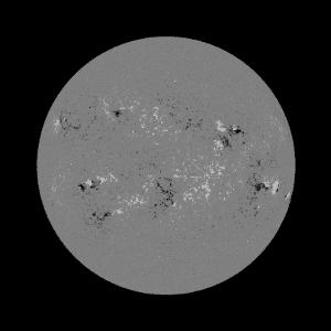 8.mai.2014 - Imagem do observatório Solar Dinâmico, da Nasa (agência espacial americana), mostra explosão solar - Nasa/Divulgação