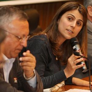 Manuela d'Ávila: deputada mais votada do RS - Nabor Goulart/Agência Freelancer/divulgação
