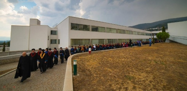 Universidade Beira Interior, em Covilha, Portugal, que aceita o Enem como prova de ingresso