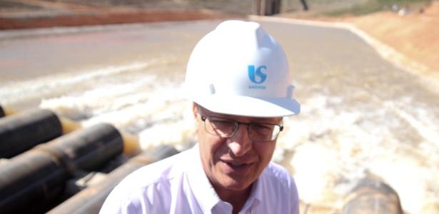 Alckmin acionou, em 15 de maio de 2014, o conjunto de bombas que deram início à captação de água do volume morto do Cantareira - Luciano Claudino/Código19/Agência O Globo