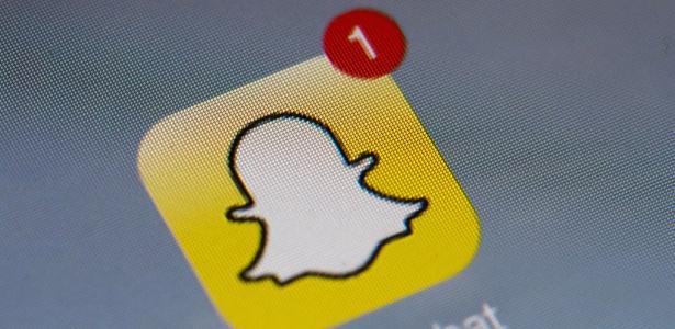 Ações da dona do Snapchat despencam 21,45%, após empresa informar prejuízo - Lionel Bonaventure/AFP