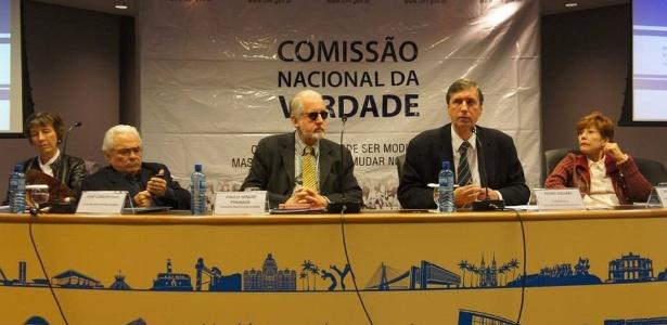 Reunião da Comissão da Verdade, em 2014