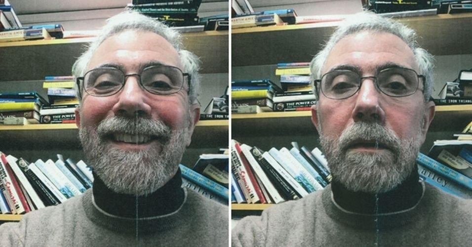 A Universidade da Cidade de Nova York divulgou selfies feitos pelo economista e vencedor do prêmio Nobel Paul Kraugman. Os cliques foram realizados durante o processo de contratação do profissional, que vai atuar na universidade em 2015. Em um e-mail que vazou na internet, Kraugman disse que estava tendo problemas para tirar as fotos