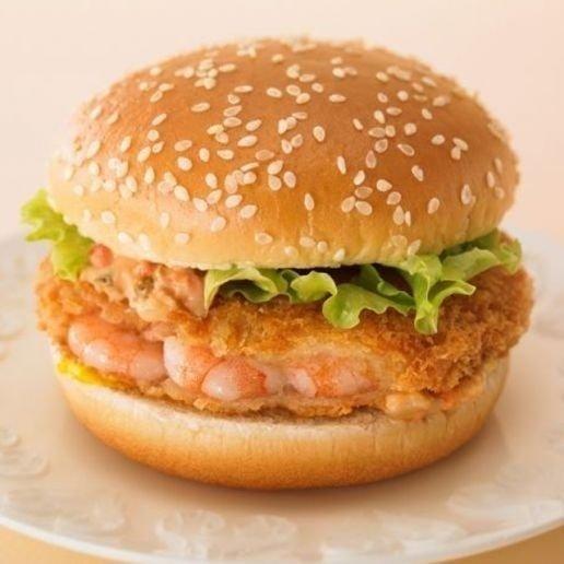 Em unidades do McDonald's do Japão é possível provar um hambúrguer de camarão. O lanche Ebi Filet-O vem com molho especial, alface e mostarda