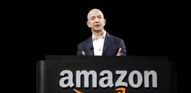 Jeff Bezos, fundador, presidente e CEO da Amazon