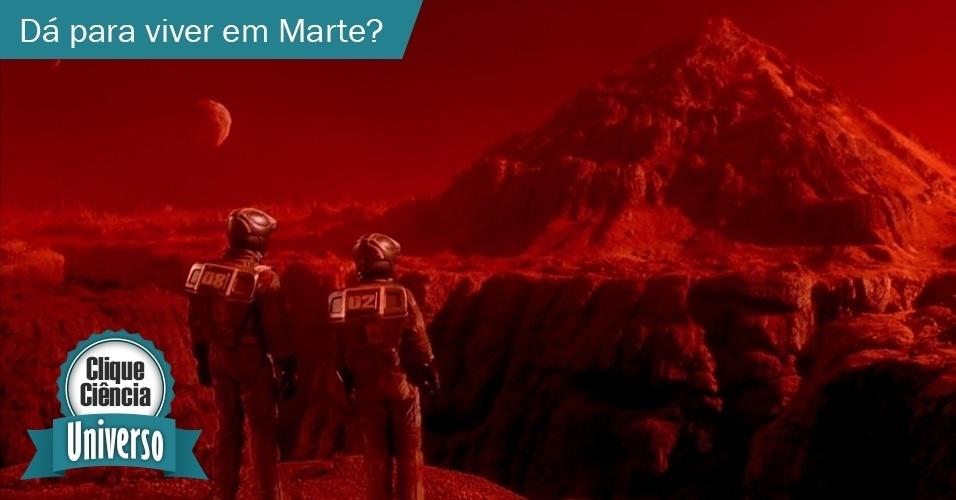 26.mai.2014 - Clique Ciência: Dá para um humano viver em Marte?