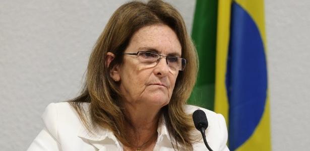 A ex-presidente da Petrobras Graça Foster
