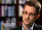 """Edward Snowden é o """"criminoso mais procurado"""" do mundo - Reprodução/NBC News/Reuters - 28.mai.2014"""