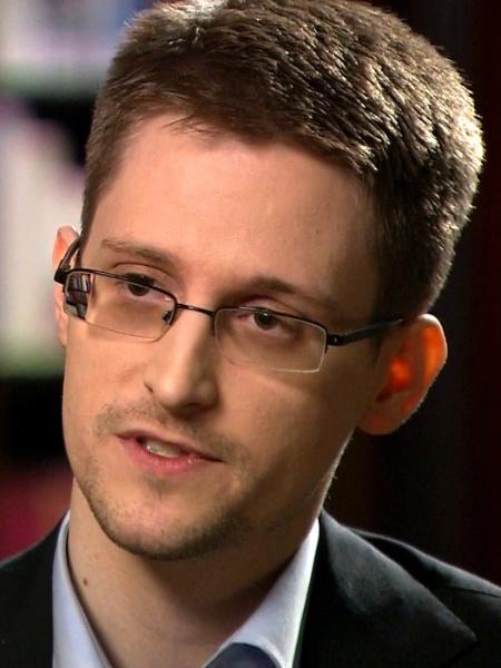 28.mai.2014 - O ex-funcionário da NSA Edward Snowden, em entrevista à rede norte-americana NBC, direto da Rússia - Reprodução/NBC News/Reuters