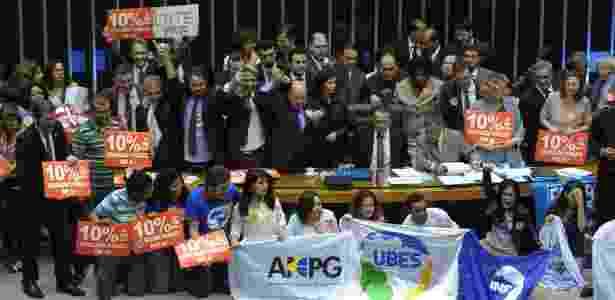 Câmara aprovou o texto-base do PNE (Plano Nacional de Educação) na noite de quarta (28) - Luis Macedo/Câmara dos Deputados