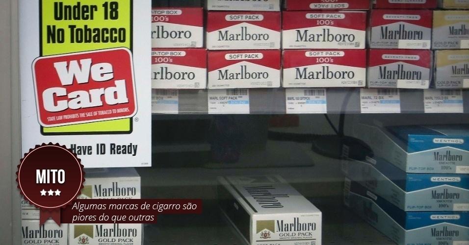 Mitos e verdades sobre o cigarro