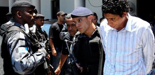 O traficante Nem foi preso ao tenta fugir da Rocinha em 2011
