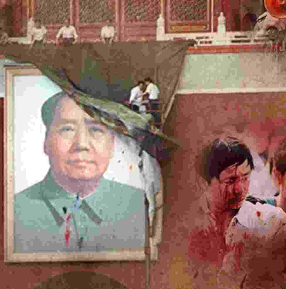 Massacre na praça da Paz Celestial faz 25 anos; reveja imagens dos protestos - Arte/UOL