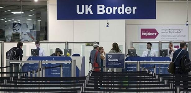 Brasil é o segundo país com o maior número de cidadãos barrados no Reino Unido - Getty/BBC