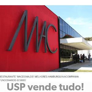 Internautas fazem piada com crise financeira na USP - Reprodução/uspvendetudo.tumblr.com