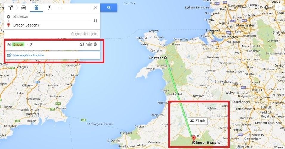 Easter Egg Google maps