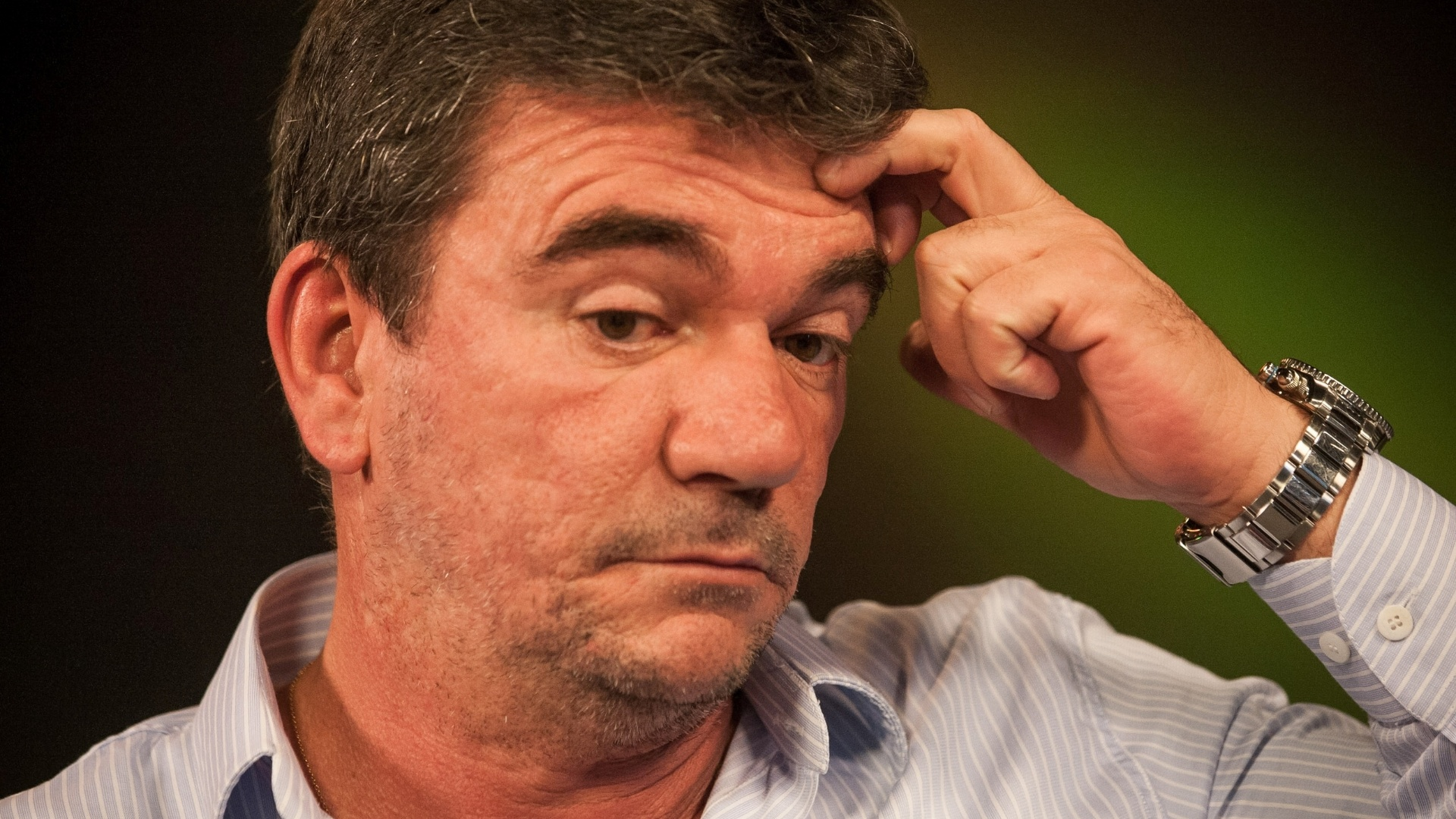 Ex-presidente do Corinthians e hoje conselheiro vitalício do clube concedeu entrevista ao UOL e à Folha em 4.jun.2014. A gravação ocorreu no estúdio do UOL em São Paulo.