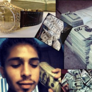 Suspeitos foram presos após postarem fotos no Facebook de objetos que teriam sido furtados - Reprodução/CBS