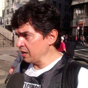 Altino Prazeres, presidente do sindicato dos metroviários de São Paulo, diz que conflito vai aumentar com demissões de grevistas - Wellington Ramalhoso/UOL