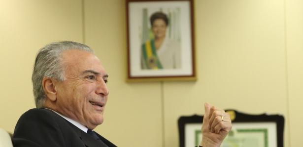 Michel Temer deu carona para deputador participar de protesto - Kleyton Amorim/UOL