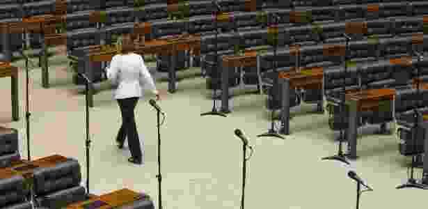 O plenário da Câmara dos Deputados, em Brasília - André Coelgo - 11.jun.2014/Ag. O Globo